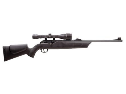 Hammerli 850 Air Magnum Air Rifle 177 Caliber Black Polymer Stock Blue Barrel with Airgun Scope 6x42mm Matte