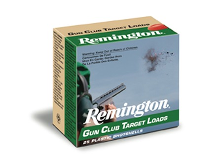 "Remington Gun Club Target Ammunition 12 Gauge 2-3/4"" 1-1/8 oz #7-1/2 Shot"