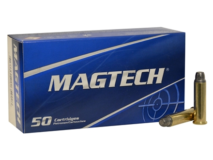 Magtech Sport Ammunition 357 Magnum 158 Grain Lead Semi-Wadcutter Box of 50