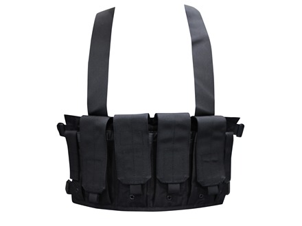 Blackhawk Chest Rig Holds 8 AR-15 30 Round Magazines and 2 Double Stack Pistol Magazines Nylon