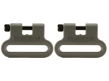 "The Outdoor Connection Brute Sling Swivels 1-1/4"" Polymer Gray (1 Pair)"