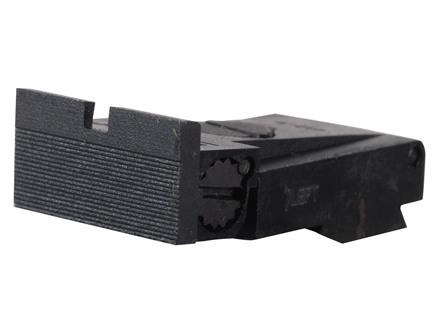 Kensight Adjustable Rear Sight Ruger Mark II, Mark III Steel Black Square Blade Fully Serrated