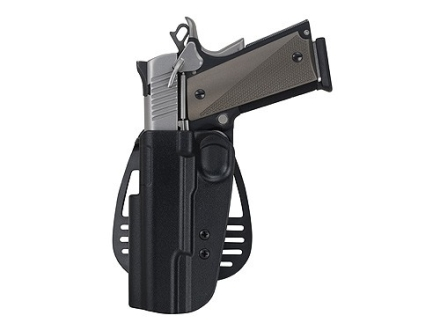 Uncle Mike's Paddle Holster Left Hand Beretta 92, 96 (Except Brigadier, Elite) Kydex Black