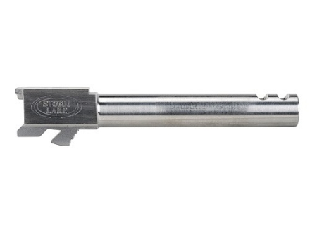 "Storm Lake Barrel Glock 19 9mm Luger 1 in 16"" Twist  4.72"" Stainless Steel with 2-Ports"