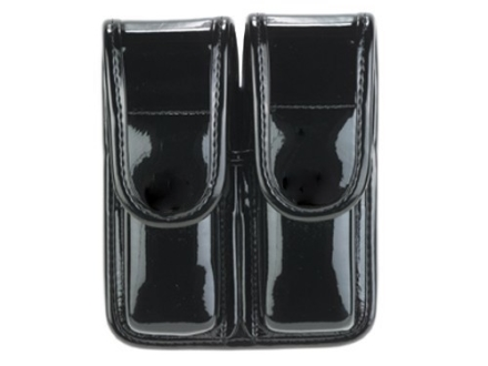Bianchi 7902 AccuMold Elite Double Magazine Pouch Single Stack 9mm, 45 ACP