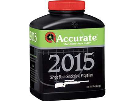 Accurate 2015 Smokeless Powder