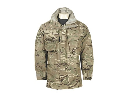 Military Surplus British Wet Weather Combat Jacket Multi-Terrain Pattern Camo