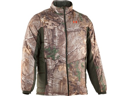 Under Armour Men's ColdGear Infrared Ridge Reaper Insulator Insulated Jacket Polyester Realtree Xtra Camo Large 42-44