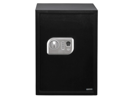 Stack-On Extra Large Personal Safe with Biometric Lock Black