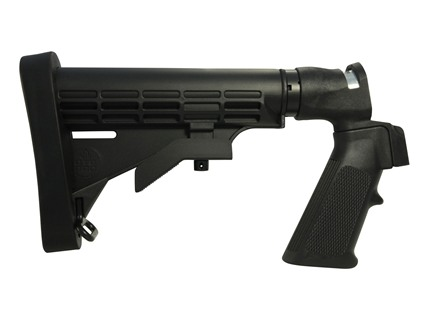 Mossberg Flex Stock Model 500 590 Flex Series Tactical 6 Position Adjustable Synthetic Black