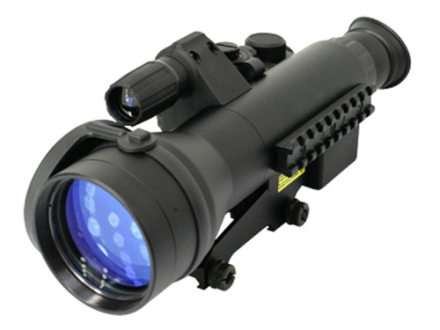 Pulsar Sentinel GS CF-Super 1st+ Generation Night Vision Rifle Scope 2.5x 60mm Illuminated Red or Green Rangefinding Reticle with Integral Weaver-Style Mount Matte