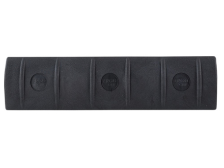 ERGO Full Profile Picatinny Long 15-Slot Rail Cover Polymer Black Package of 3
