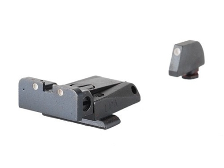 LPA SPR Sight Set Glock 17, 19, 20, 21, 22, 23, 25, 26, 27, 28, 29, 30, 31, 32 Steel 3-Dot