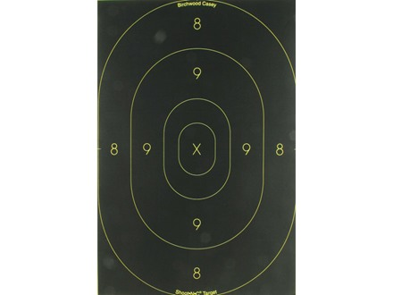 "Birchwood Casey Shoot-N-C Target 12"" x 18"" Silhouette Package of 5"
