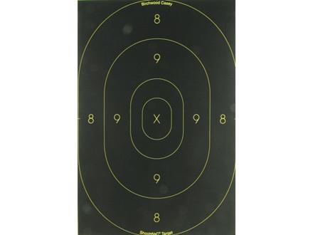 """Birchwood Casey Shoot-N-C Target 12"""" x 18"""" Silhouette Package of 5"""