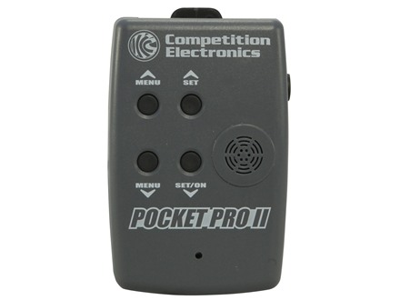 Competition Electronics Pocket Pro II Shot Timer Gray