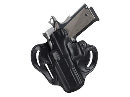 DeSantis Speed Scabbard Belt Holster Left Hand Glock 29. 30, 39 Leather Black