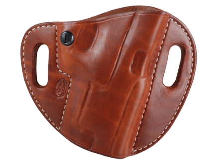 El Paso Saddlery Crosshair Outside the Waistband Holster Right Hand Springfield XDM Leather Russet Brown
