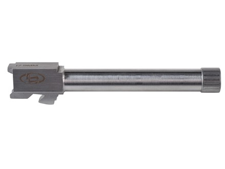 "Storm Lake Barrel Glock 19 9mm Luger 1 in 16"" Twist 4.72"" Steel 1/2""-28 Threaded Muzzle with Thread Protector"