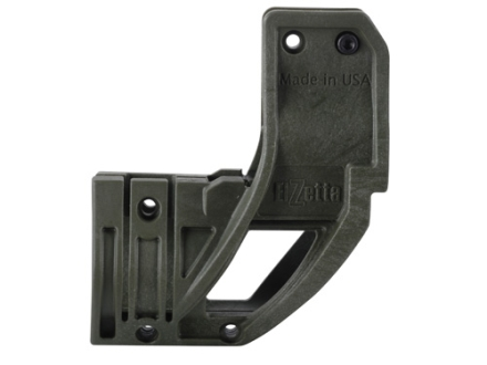 "Elzetta ZFH1500Q Flashlight Mount with QD Thumbscrew fits AR-15 A2 Front Sight Base .70"" to 1.1"" Ring Diameter Polymer"