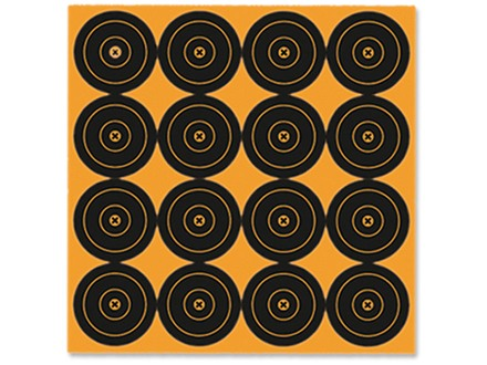 "Birchwood Casey Big Burst BB3 3"" Bullseye Target Package of 48"