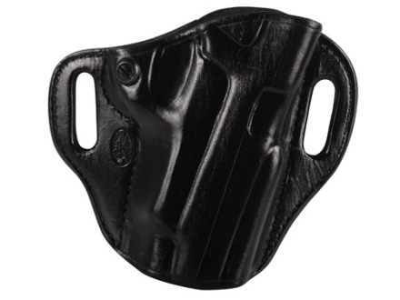 El Paso Saddlery Crosshair Outside the Waistband Holster Right Hand Sig Sauer P220, P226 Leather Black