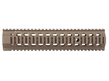 "Troy Industries 11"" Bravo Battle Rail Free Float Quad Rail Handguard AR-15 Flat Dark Earth"