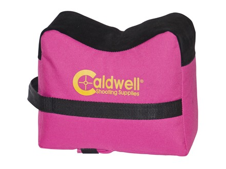 Caldwell DeadShot Front Shooting Rest Bag Pink Nylon Filled