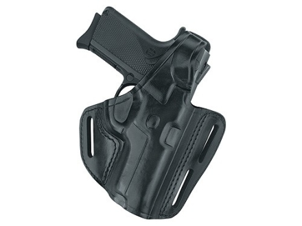 Gould & Goodrich B803 Belt Holster Left Hand Glock 17, 22, 31 Leather Black
