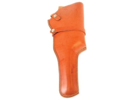 "Hunter 1100 Snap-Off Belt Holster Right Hand 14"" Thompson Center Contender Barrel Scoped Leather Tan"