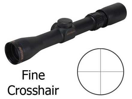 Sightron SI Rimfire Rifle Scope 3-9x 32mm Fine Crosshair Reticle Matte