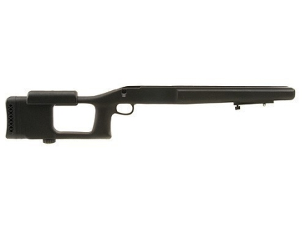 "Choate Ultimate Varmint Rifle Stock Savage 110 Series Long Action Staggered Feed Blind Magazine 1.25"" Barrel Channel Synthetic Black"