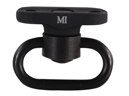 Midwest Industries Rear Single Point Sling Adaptor with Quick Detach Sling Swivel AK-47, AK-74 Aluminum Black