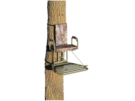API Outdoors Magnum Baby Grand Hang On Treestand Aluminum Realtree AP Camo