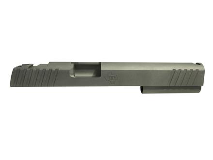 "STI Perfect 10 Slide 1911 6"" 40 S&W, 10mm STI Front Sight Cut and LPA Rear Cut Steel in the White"