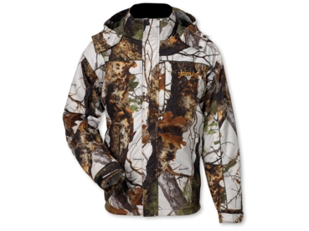 Scent-Lok Men's Thundertek Cyclone Waterproof Insulated Parka Polyester Vertigo Gray Camo Medium 38-40