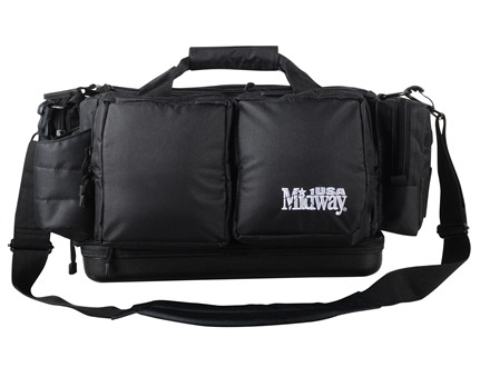 MidwayUSA Pro Series Compact Range Bag PVC Coated Polyester Black