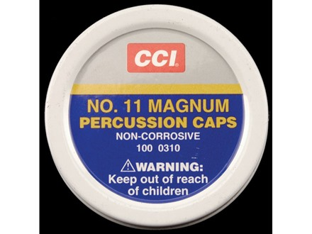 CCI Percussion Caps #11 Magnum Case of 5000 (5 Boxes of 1000)