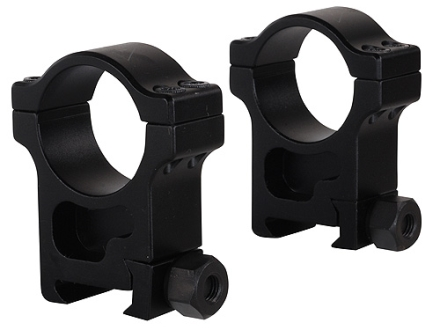 Trijicon 30mm Accupoint Aluminum Picatinny-Style Rings Matte Extra High