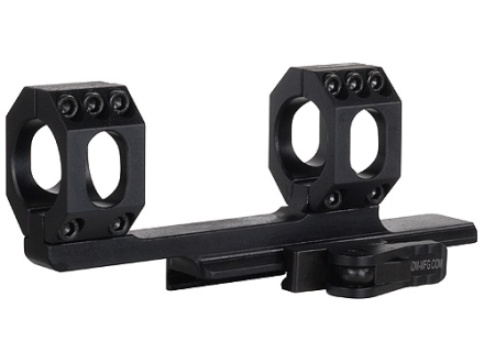 "American Defense Scout Quick-Release Extended Scope Mount Picatinny-Style with 1"" Rings AR-15 Flat-Top Matte"
