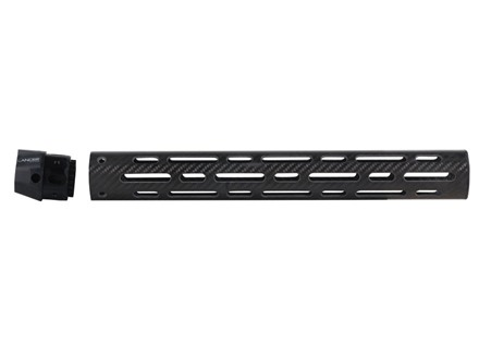 "Lancer Systems LCH Free Float Tube Handguard AR-15 Extended 15"" Rifle Length Vented Carbon Fiber"