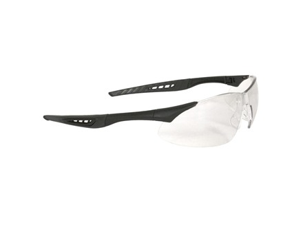 Radians Rock Anti-Fog Shooting Glasses Clear Lens Black Frame