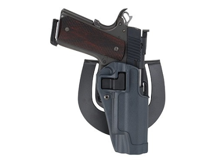 BlackHawk Serpa Sportster Paddle Holster Right Hand Glock 26, 27, 33 Polymer Gun Metal Gray