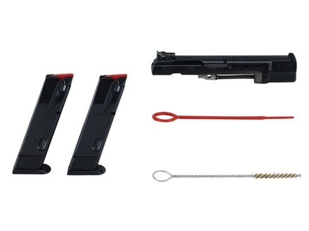 CZ Kadet Conversion Kit with Adjustable Sights CZ 75, 85 22 Long Rifle with 10-Round Magazines Matte
