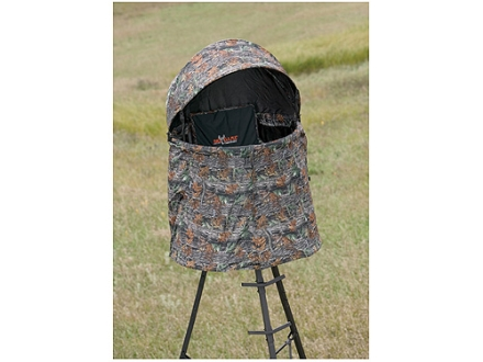 Big Game The Cover-All Treestand Blind Nylon Matrix Camo