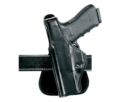 Safariland 518 Paddle Holster Left Hand Beretta 92, 96 with Light Rail Laminate Black