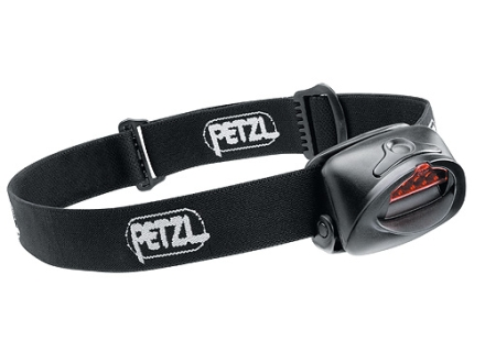 Petzl TacTikka Plus Headlamp 4 White LEDs with Batteries (3 AAA Alkaline) Polymer