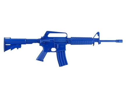 BlueGuns Firearm Simulator CAR-15 Polyurethane Blue