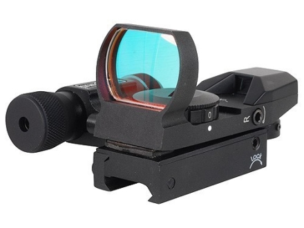 Sightmark Laser Dual Shot Reflex Red Dot Sight 1x 4 MOA Dot Matte
