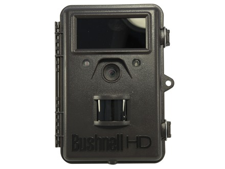 Bushnell Trophy Cam HD Max Hybrid Black Flash Infrared Game Camera 8.0 Megapixel Brown